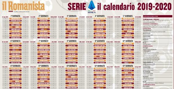 Serie A Calendario Completo.Foto Seria A 2019 20 Scarica Il Calendario Completo De Il