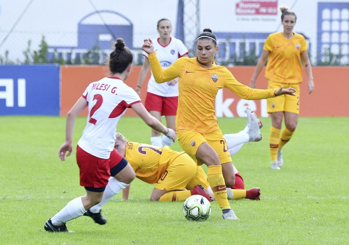 FOTO - Femminile, sorteggiato il tabellone di Coppa Italia