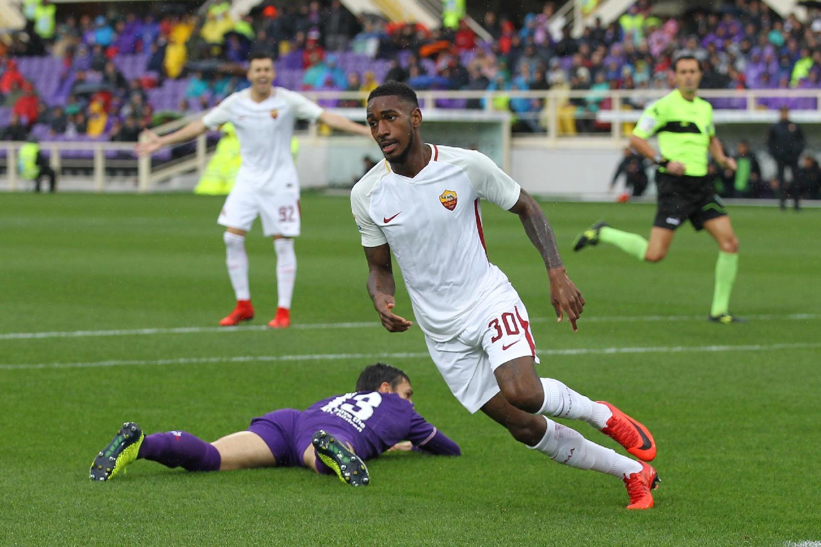 SERIE A: Roma da record in trasferta: 4-2 a Firenze, doppietta Gerson