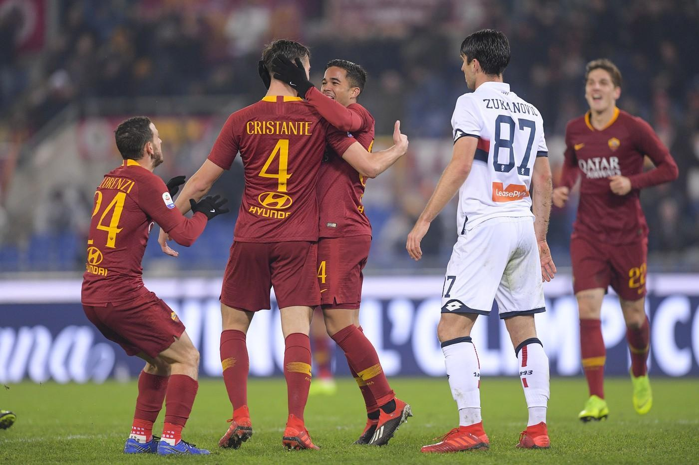 Image result for GENOA - AS ROMÁ,