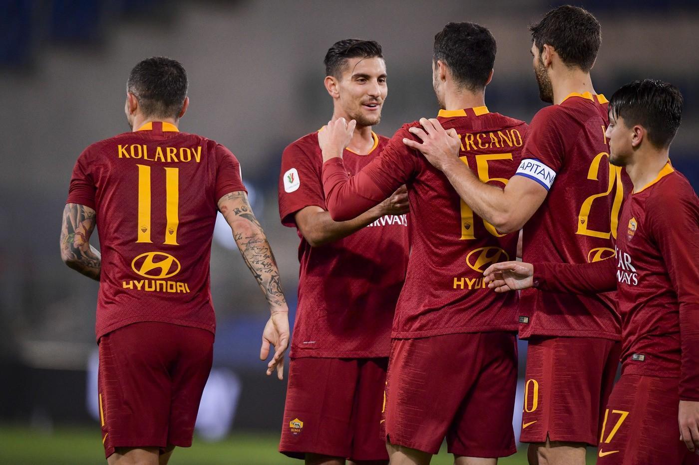 baaf31884e Roma, la cooperativa del gol: 17 giocatori a segno, in Europa meglio ...