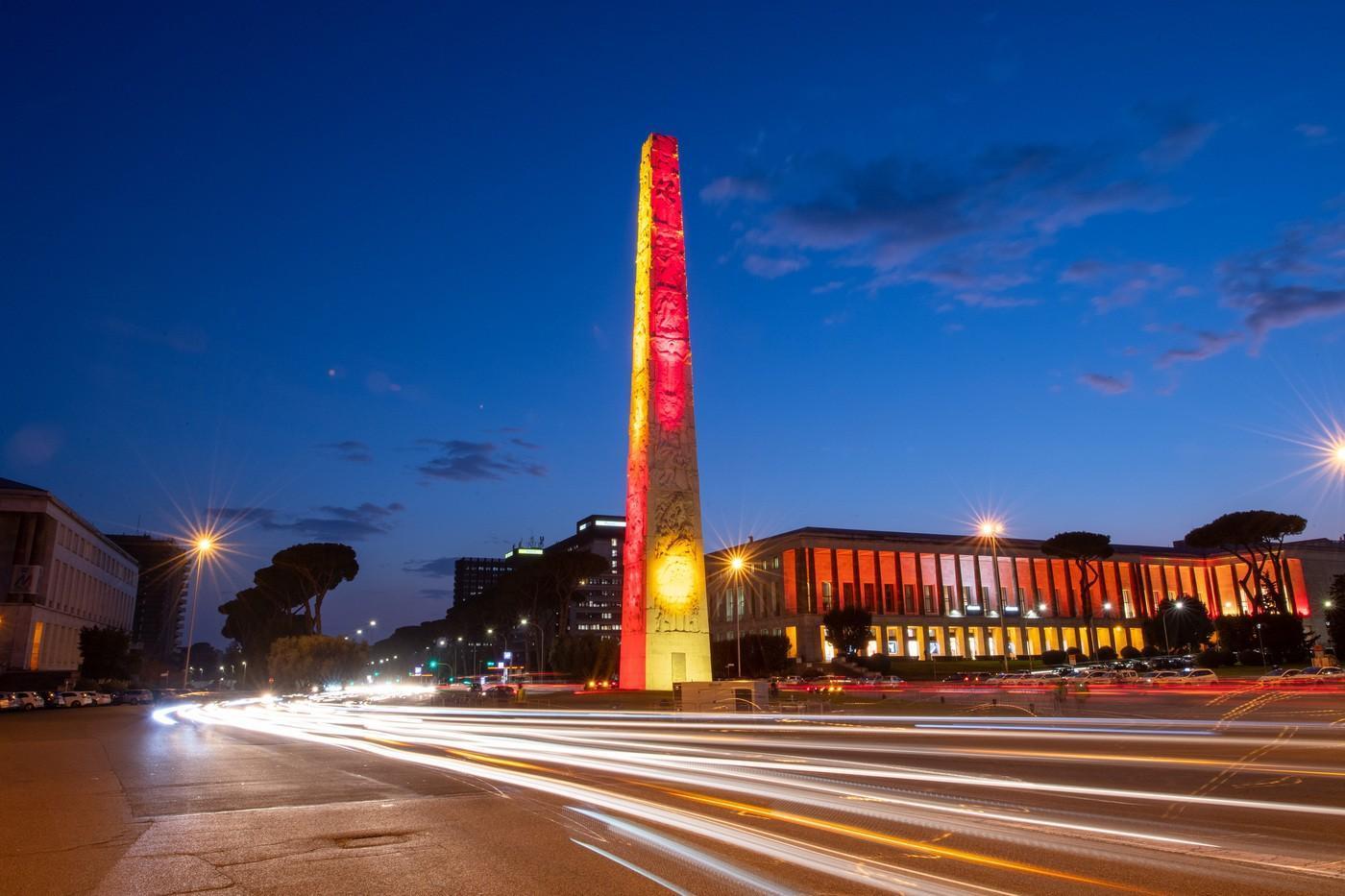 La roma presenta la nuova sede dell 39 eur partecipano for Uffici eur roma