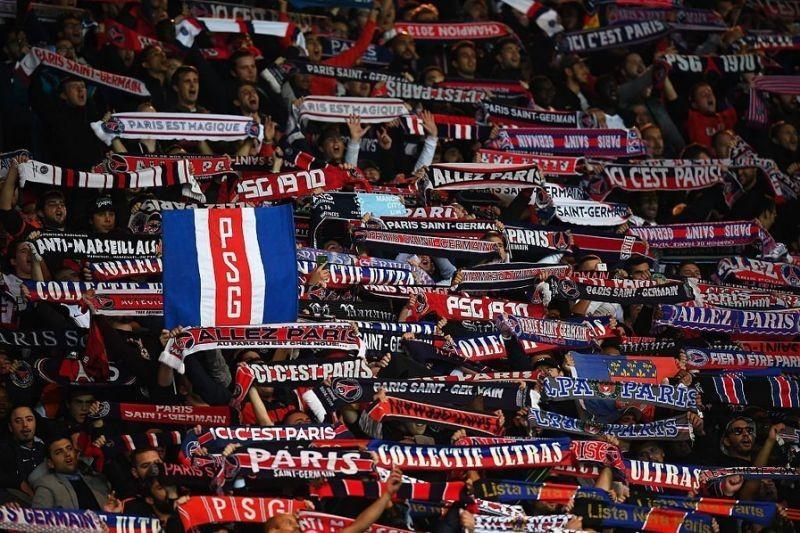 I tifosi del Paris Saint Germain