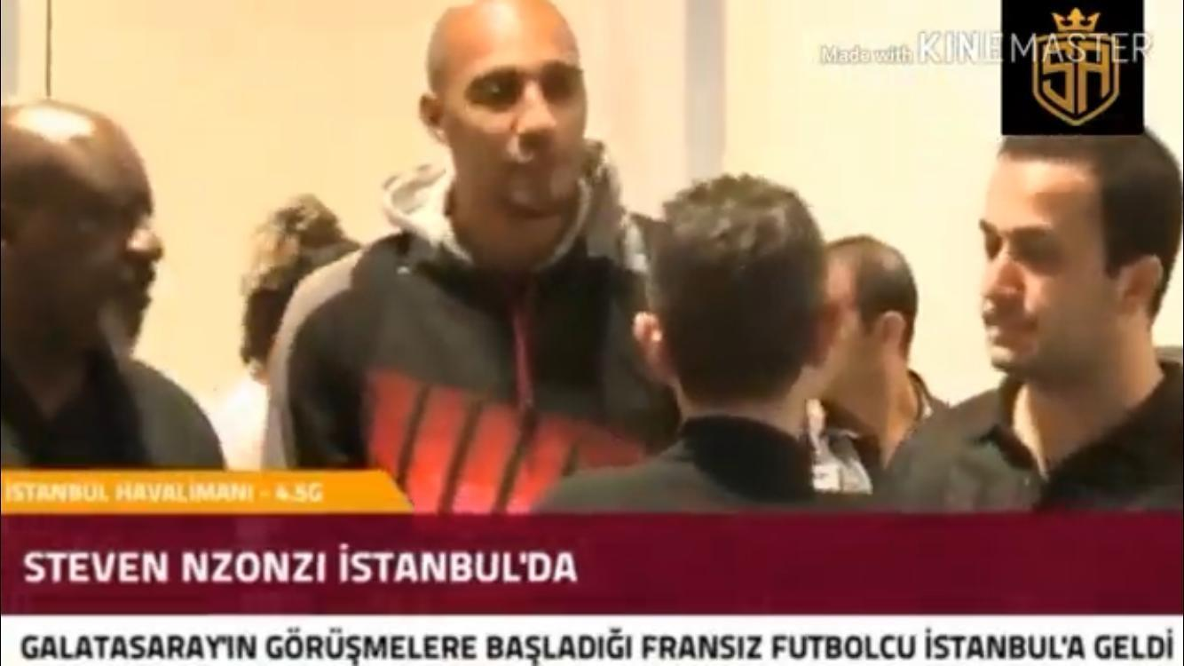 VIDEO - Nzonzi è arrivato stanotte all'aeroporto di Istanbul