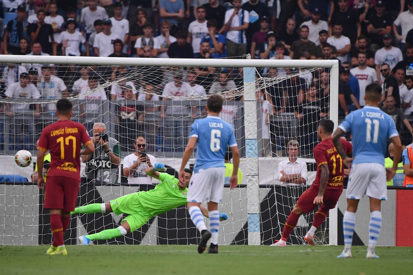 Lazio-Roma, l'analisi tattica: all'Olimpico una gara da Premier League©LaPresse