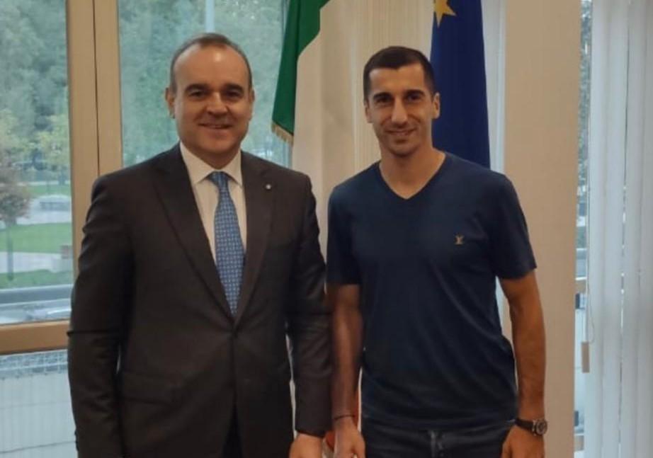 L'Ambasciatore italiano in Armenia: