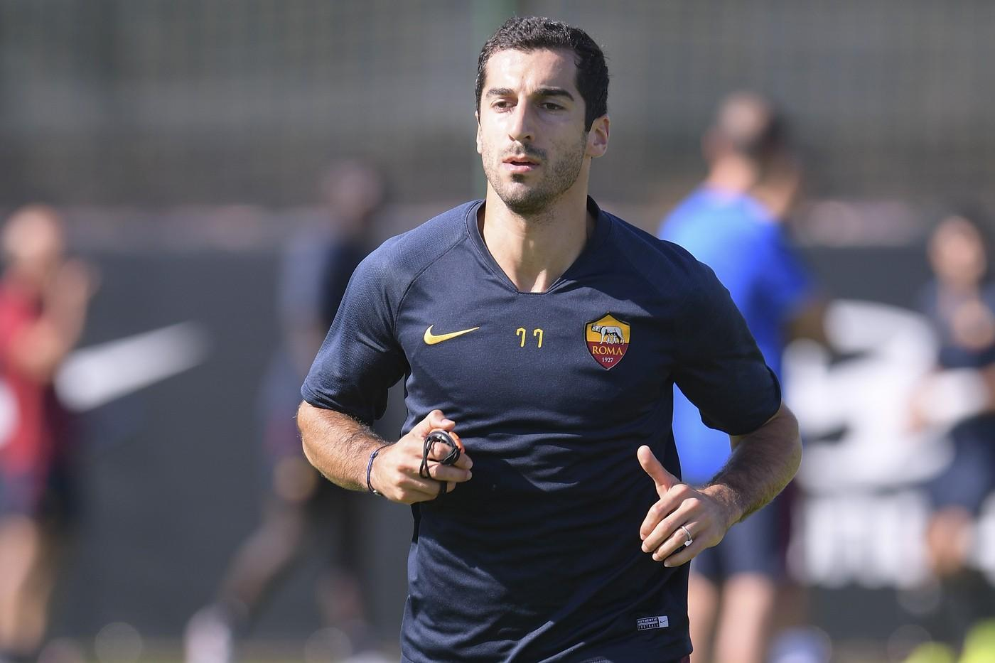 Mkhitaryan dice no all'Armenia per esserci a Roma-Brescia©LaPresse