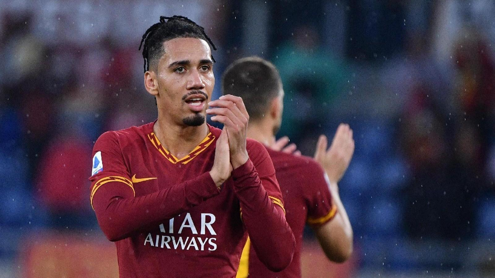 Chris Smalling è a Roma in prestito dal Manchester United ©LaPresse