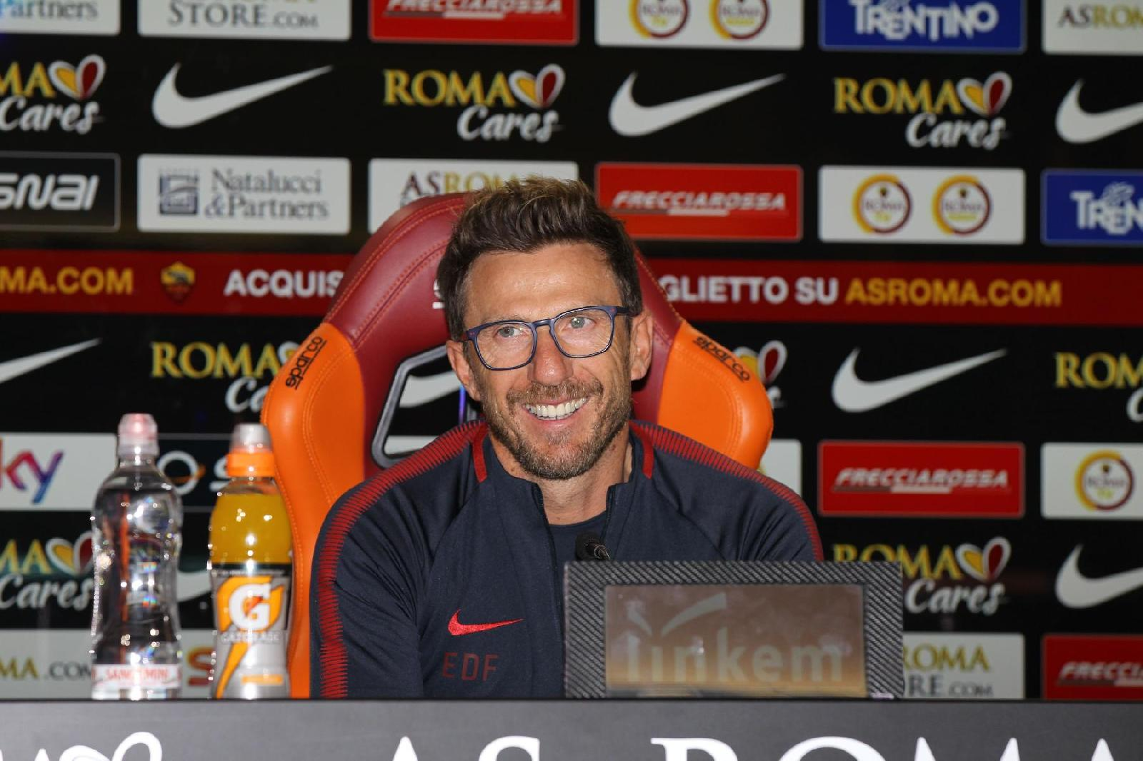 FOTO e VIDEO - Di Francesco: