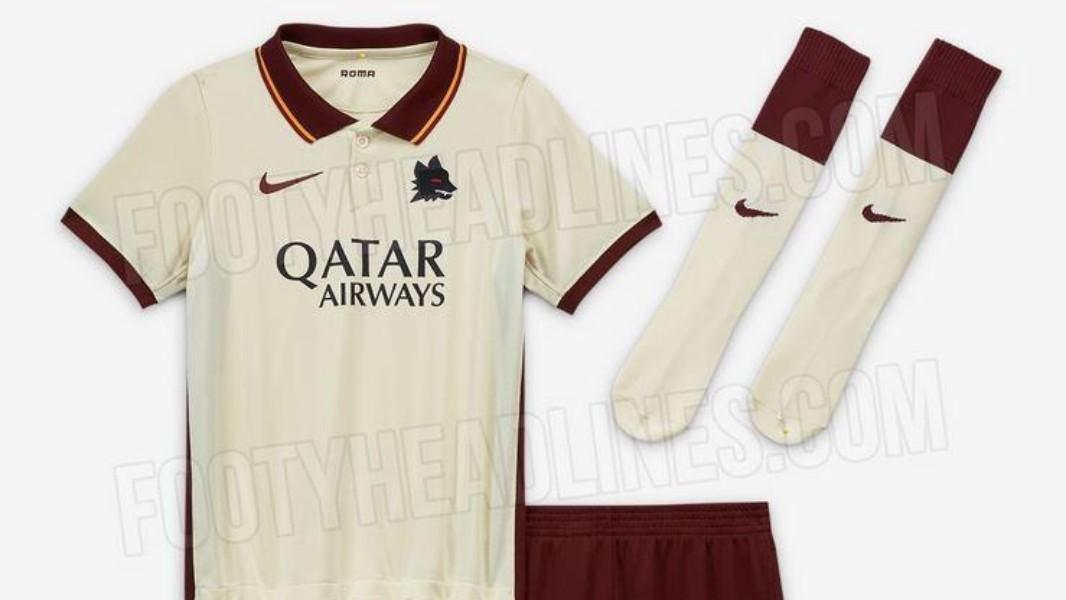 FOTO - Seconda maglia della Roma 2020/2021, ecco le nuove ...
