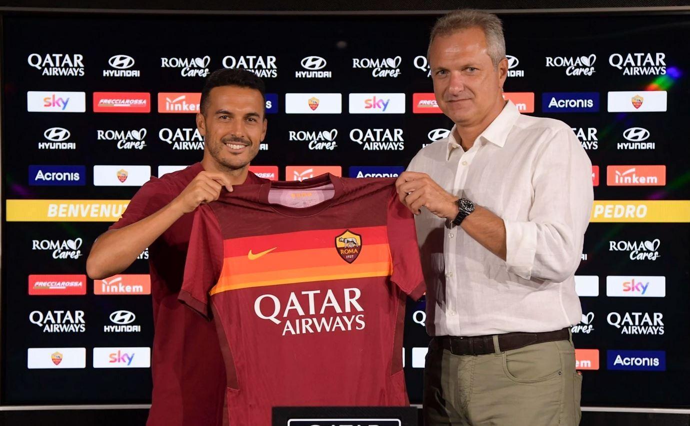 """UFFICIALE - Pedro è un nuovo giocatore della Roma: """"Entusiasta della nuova  sfida"""""""