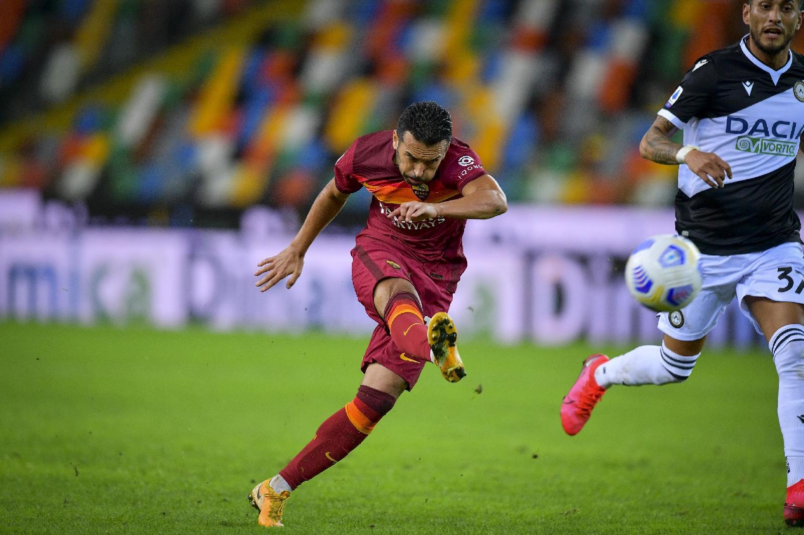 Pedro gol a Udine: finisce 0-1 per la Roma!