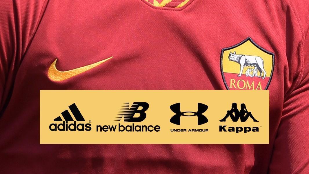 Roma, per lo sponsor tecnico c'è New Balance in pole position