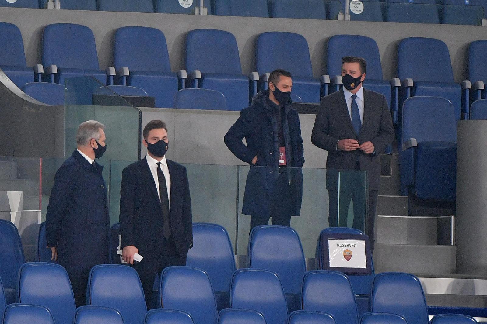 Roma-Fiorentina: Zaniolo e Dan Friedkin in tribuna all'Olimpico