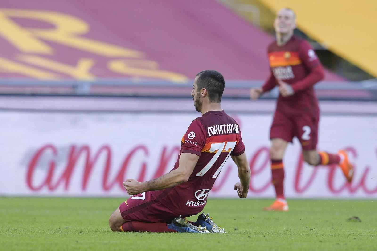 Le pagelle di Roma-Parma: Mkhitaryan stellare, Mayoral ...