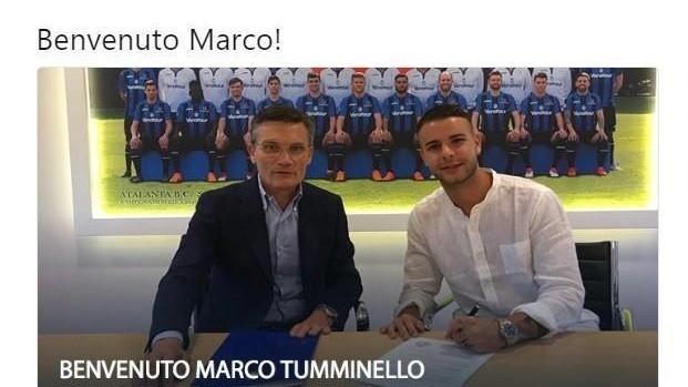Seconda Maglia Atalanta MARCO TUMMINELLO