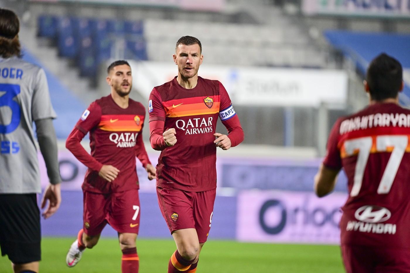 Assist di Mhkitaryan e gol di Dzeko: 0-1 a Bergamo!