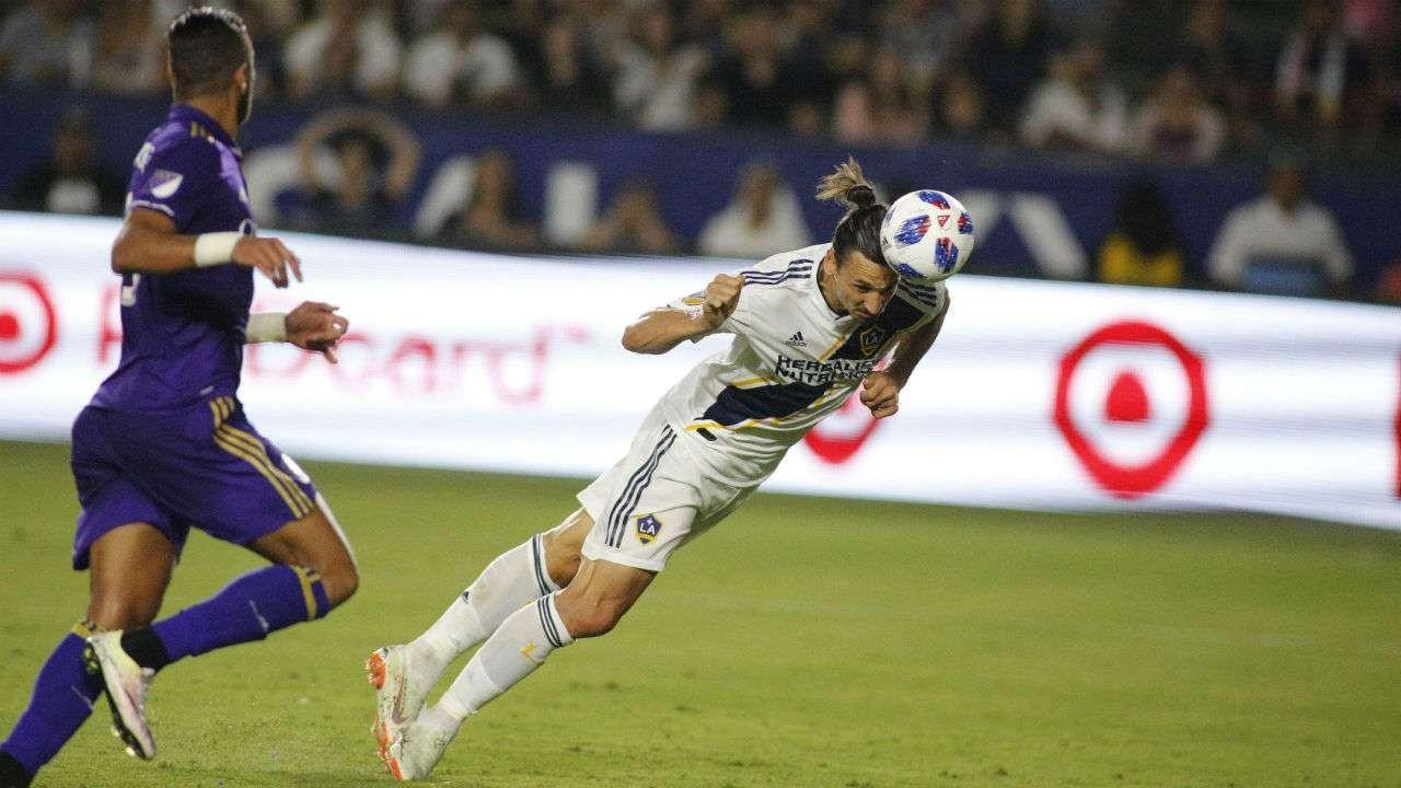 VIDEO - Ibrahimovic show contro l'Orlando City: la sua tripletta decide il match