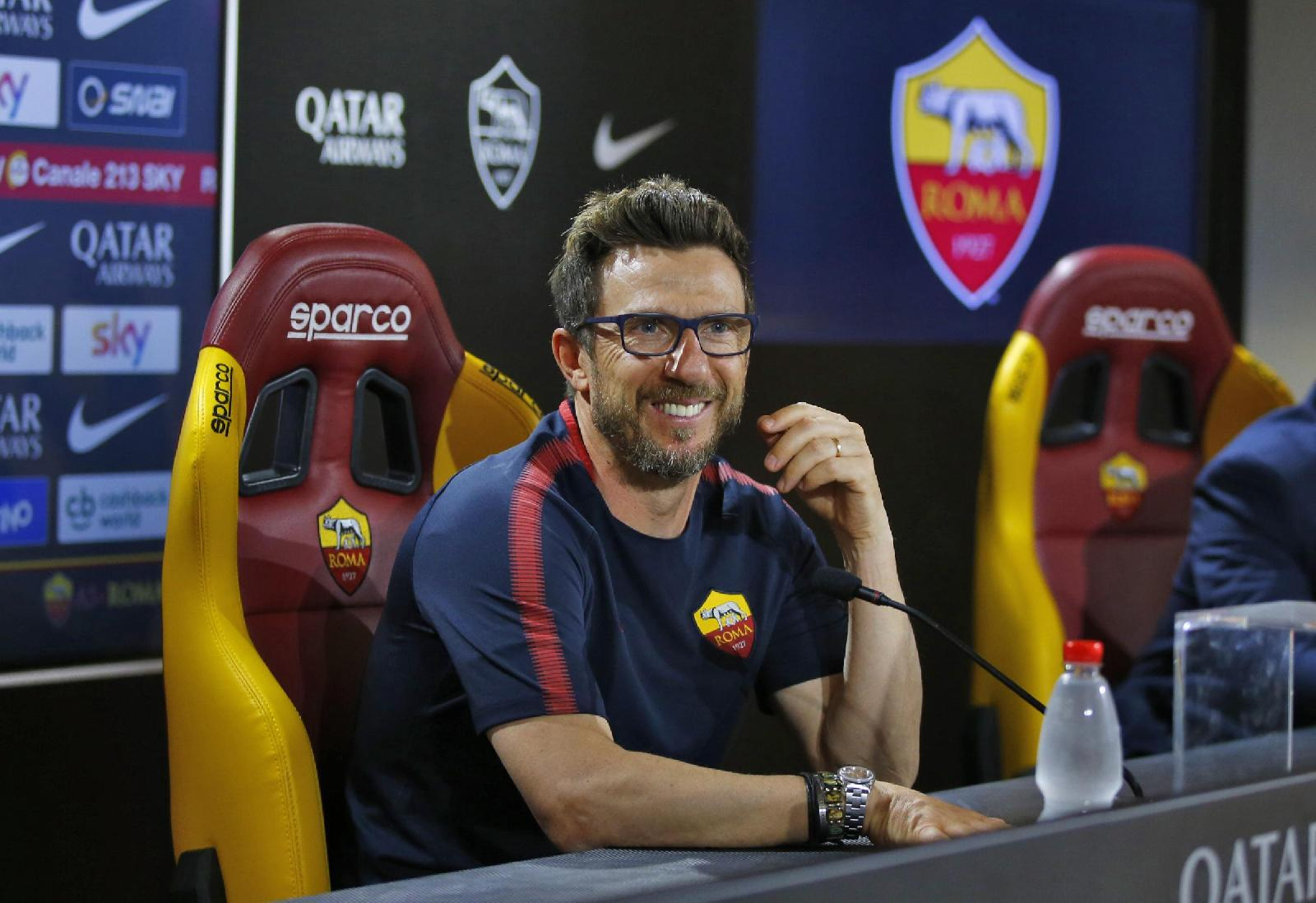 Roma-Chievo, Di Francesco in conferenza stampa sabato alle ore 14