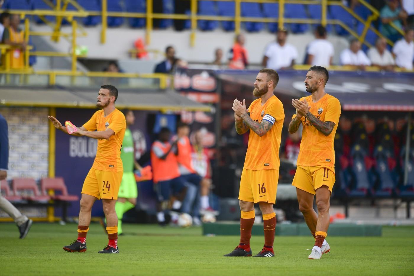 Roma Bologna Florenzi tifosi