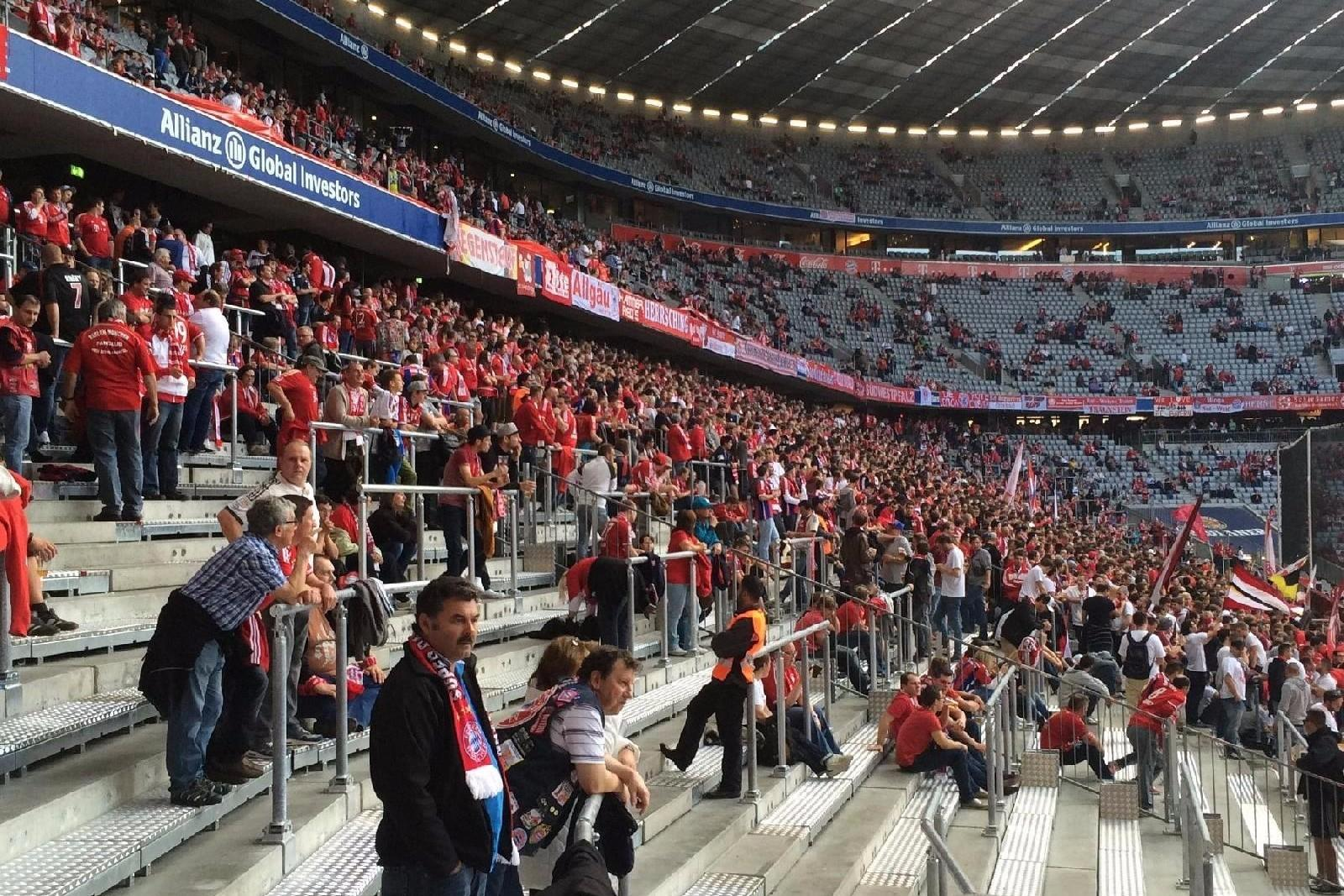 La Standing Area dell'Allianz Arena