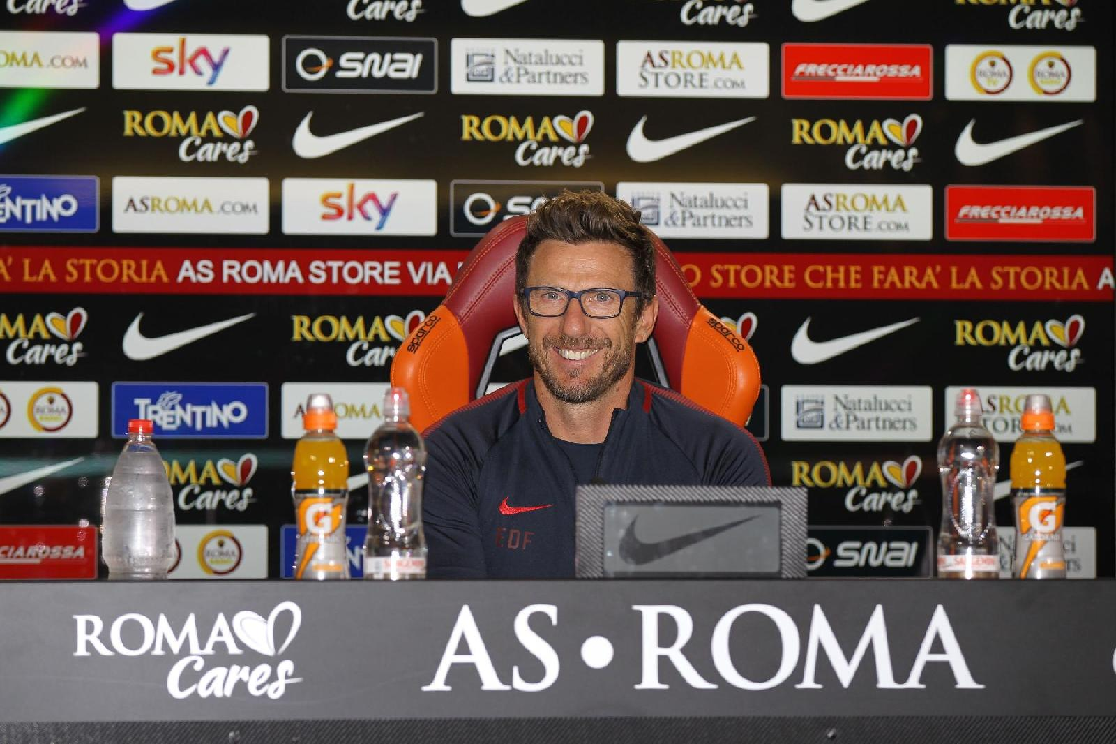 Roma, parla Di Francesco: