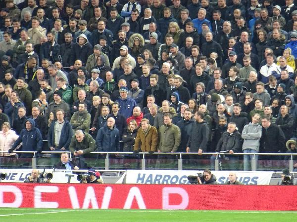 Safe-Standing in Spurs new stadium, Jon Darch: