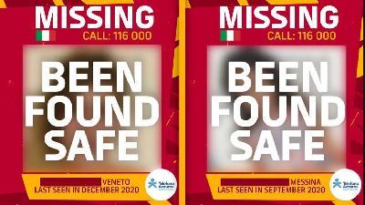 FOTO - Ritrovate altre due ragazze scomparse grazie agli annunci della Roma
