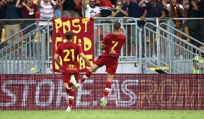 Roma-Debrecen 5-2: a segno Mayoral, Pellegrini, Zaniolo e Dzeko
