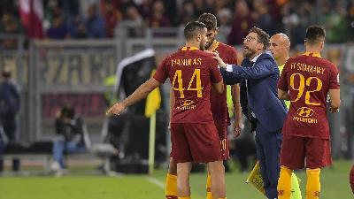 Di Francesco e Manolas