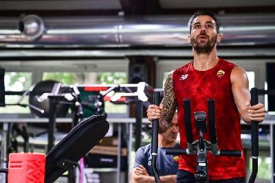 VIDEO - Spinazzola corre a Trigoria, Mancini lo incita: