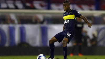 Wilmar Barrios mediano del Boca Juniors