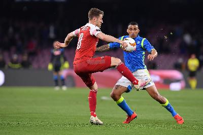 Europa League, Napoli-Arsenal 0-1: Lacazette decide la sfida