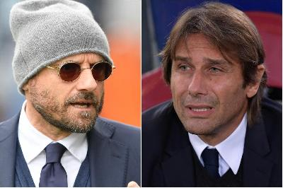 Gianluca Petrachi e Antonio Conte