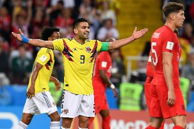 Il centravanti colombiano Radamel Falcao