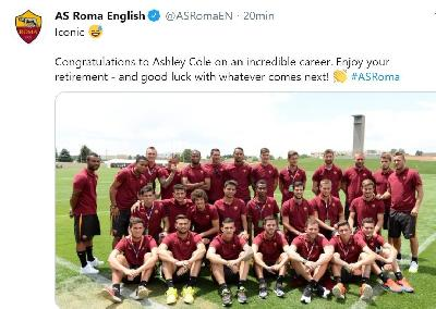 Ashley Cole si ritira, la Roma: