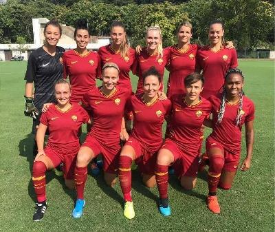 VIDEO - La Roma Femminile batte 1-0 la Roma CF in amichevole: decisiva Thomas