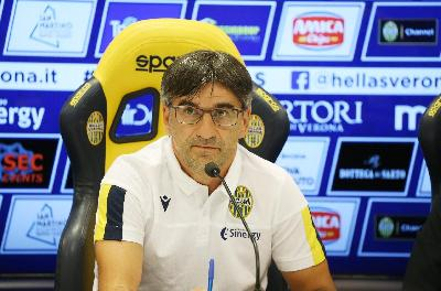 Ivan Juric in conferenza stampa