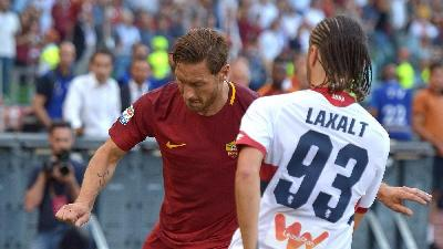 Francesco Totti: the last kick, the last shot against the 93