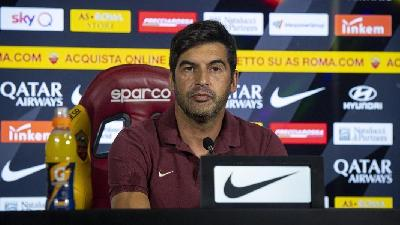 Paulo Fonseca in conferenza stampa