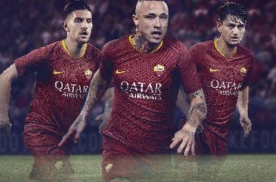 AS Roma published new Nike's home jersey for the 2018/19 season