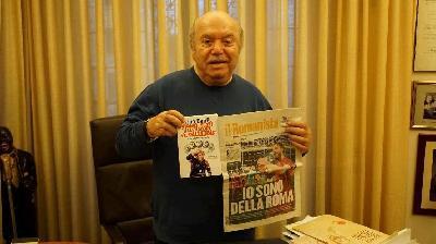 Lino Banfi: «Liedholm mi suggerì di diventare Canà. La Roma di oggi mi piace»
