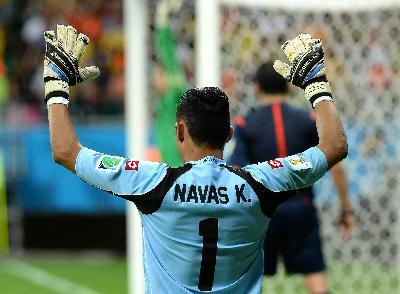 Real Madrid, Navas: