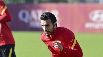 Trigoria: Pedro torna in gruppo a due giorni dal derby