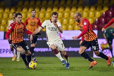 Benevento-Roma 0-0, finisce in parità al Vigorito