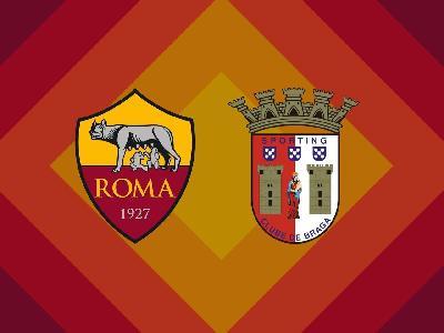 Roma-Braga, le formazioni ufficiali: Spinazzola in panchina, Dzeko in attacco