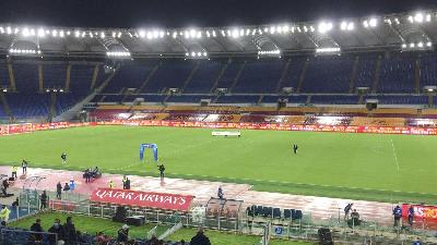 Roma-Ajax: in serata all'Olimpico poche nuvole e temperature medio-basse