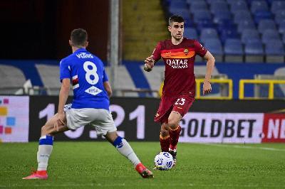 Sampdoria-Roma, Mancini ammonito da diffidato: salterà il Crotone