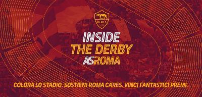 L'iniziativa di Roma Cares per il derby: venduti oltre 40mila biglietti virtuali