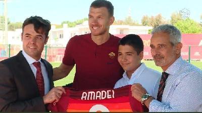 VIDEO - Inaugurato a Trigoria il campo intitolato ad Amedeo Amadei